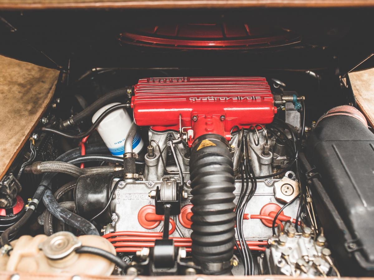 Sbarro Super Eight engine