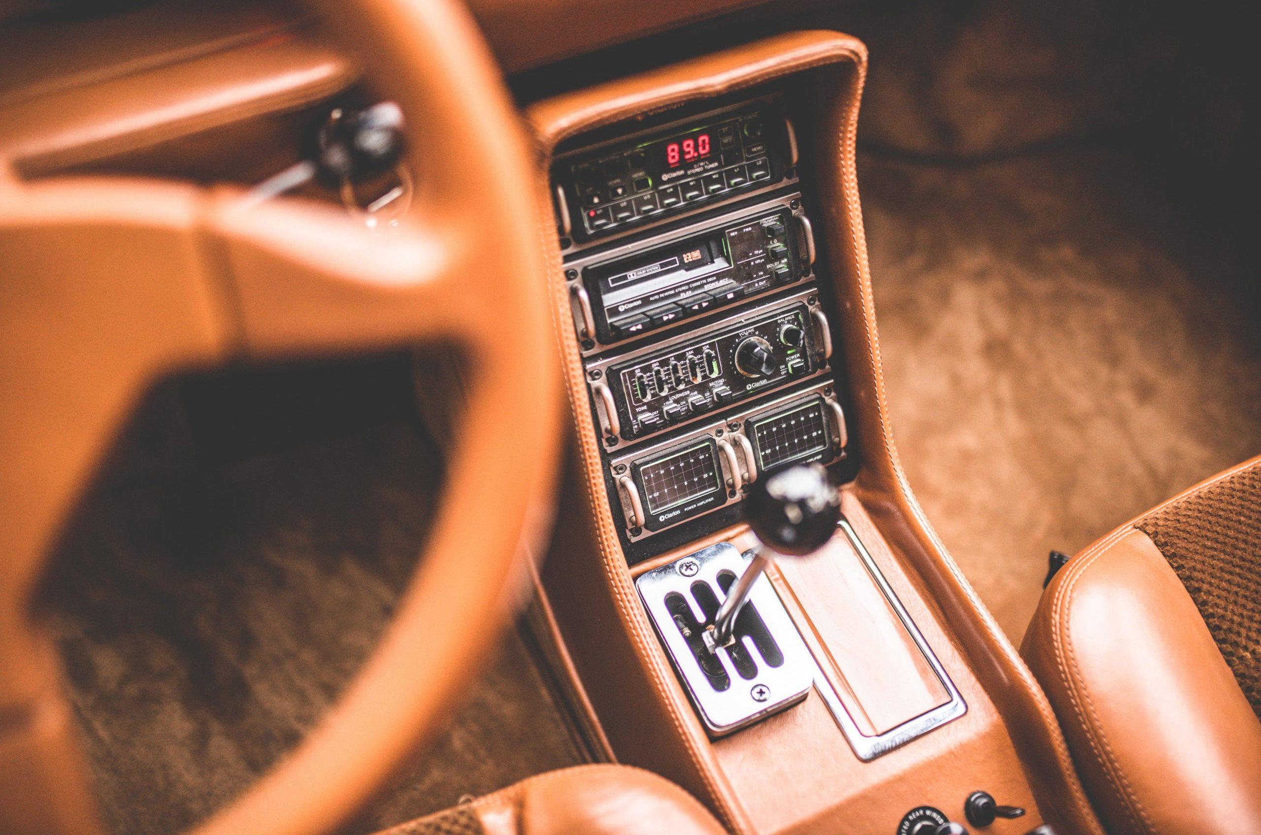 Sbarro Super Eight interior center console
