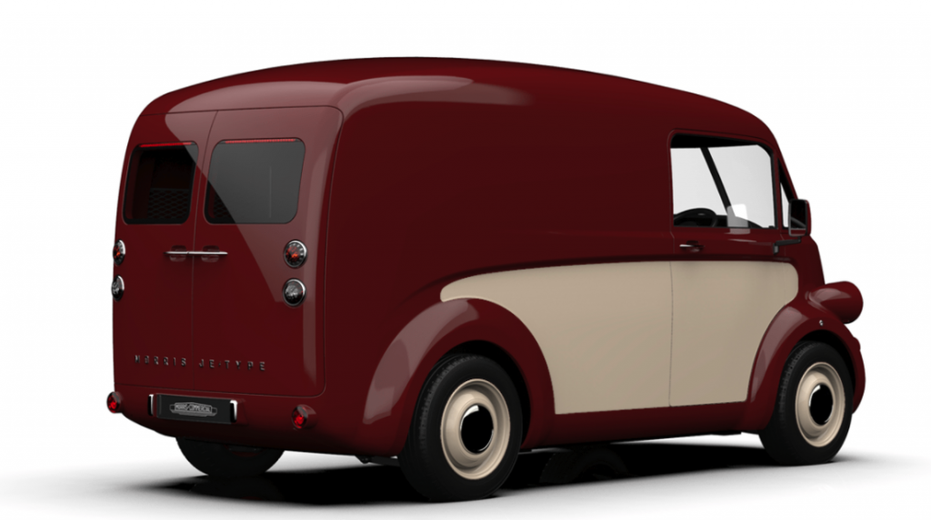 Morris Commercial JE van rear