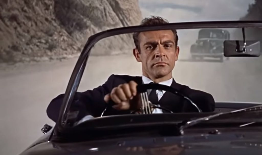 Sean Connery - Sunbeam Alpine - Dr. No