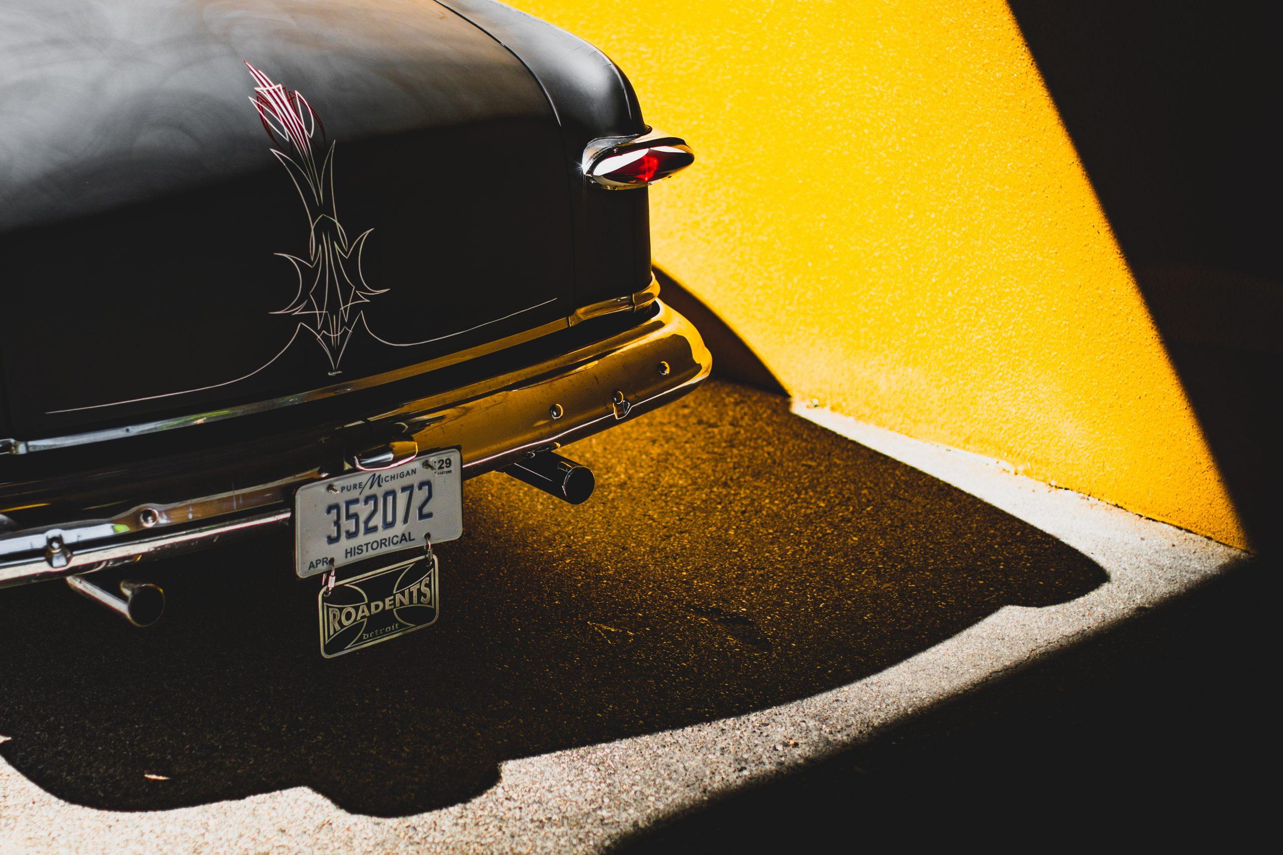 shoebox ford rear detail