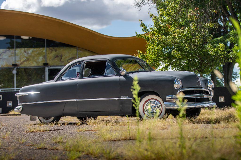 shoebox ford front three-quarter