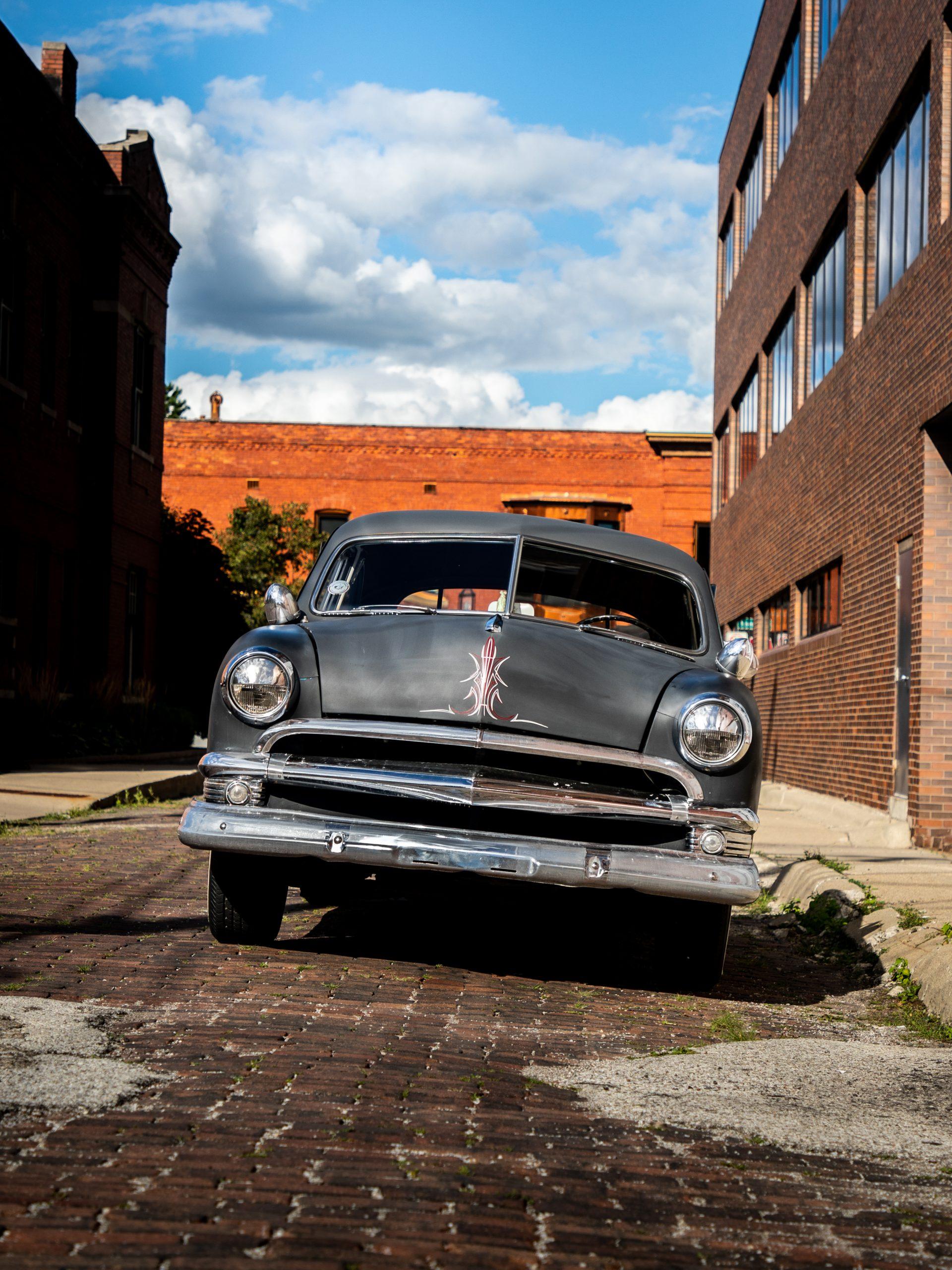 shoebox ford front vertical