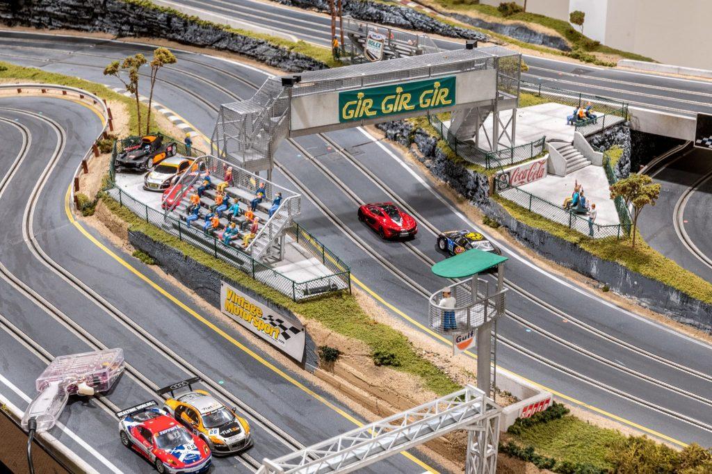 Slot Car Racetrack overpass