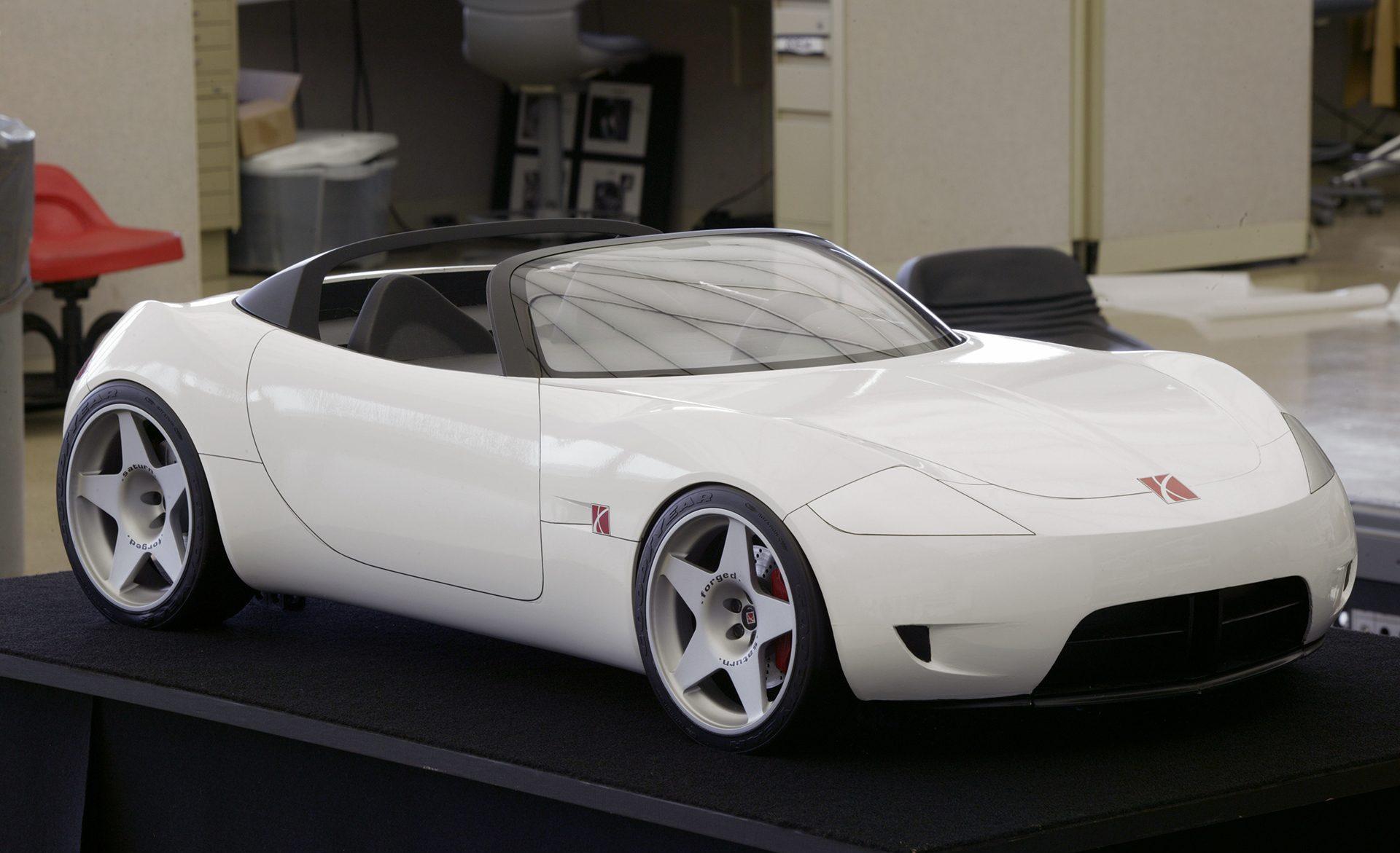 Saturn vision concept front three-quarter