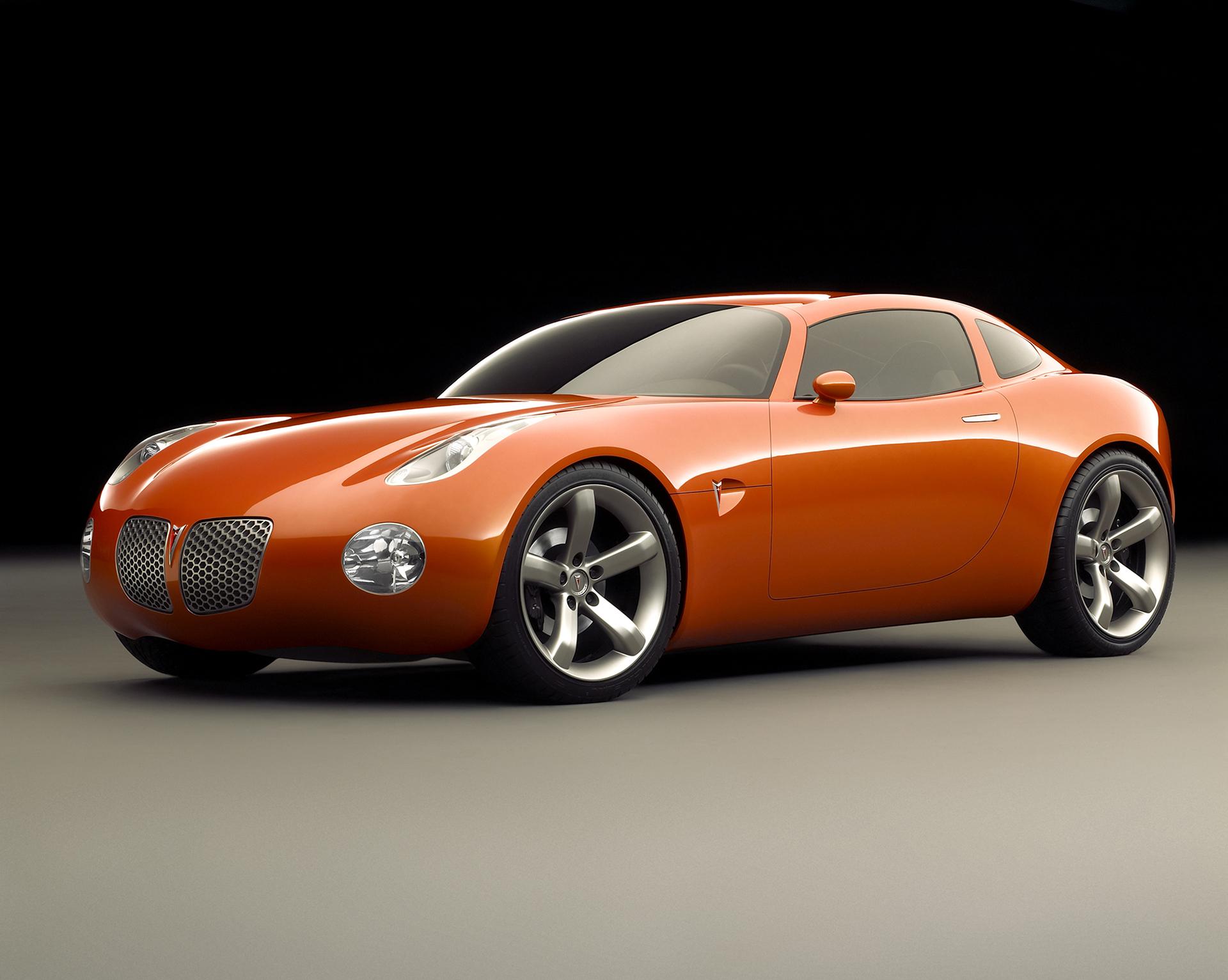 2002 pontiac solstice coupe concept front three-quarter