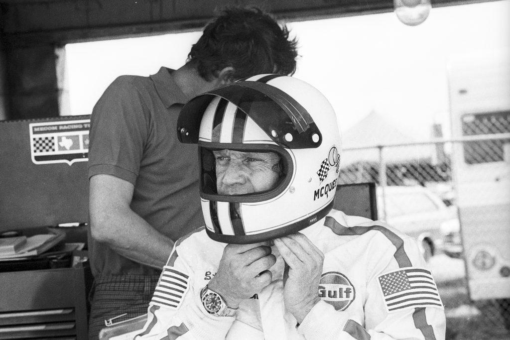Steve McQueen 12 Hours Of Sebring Helmet