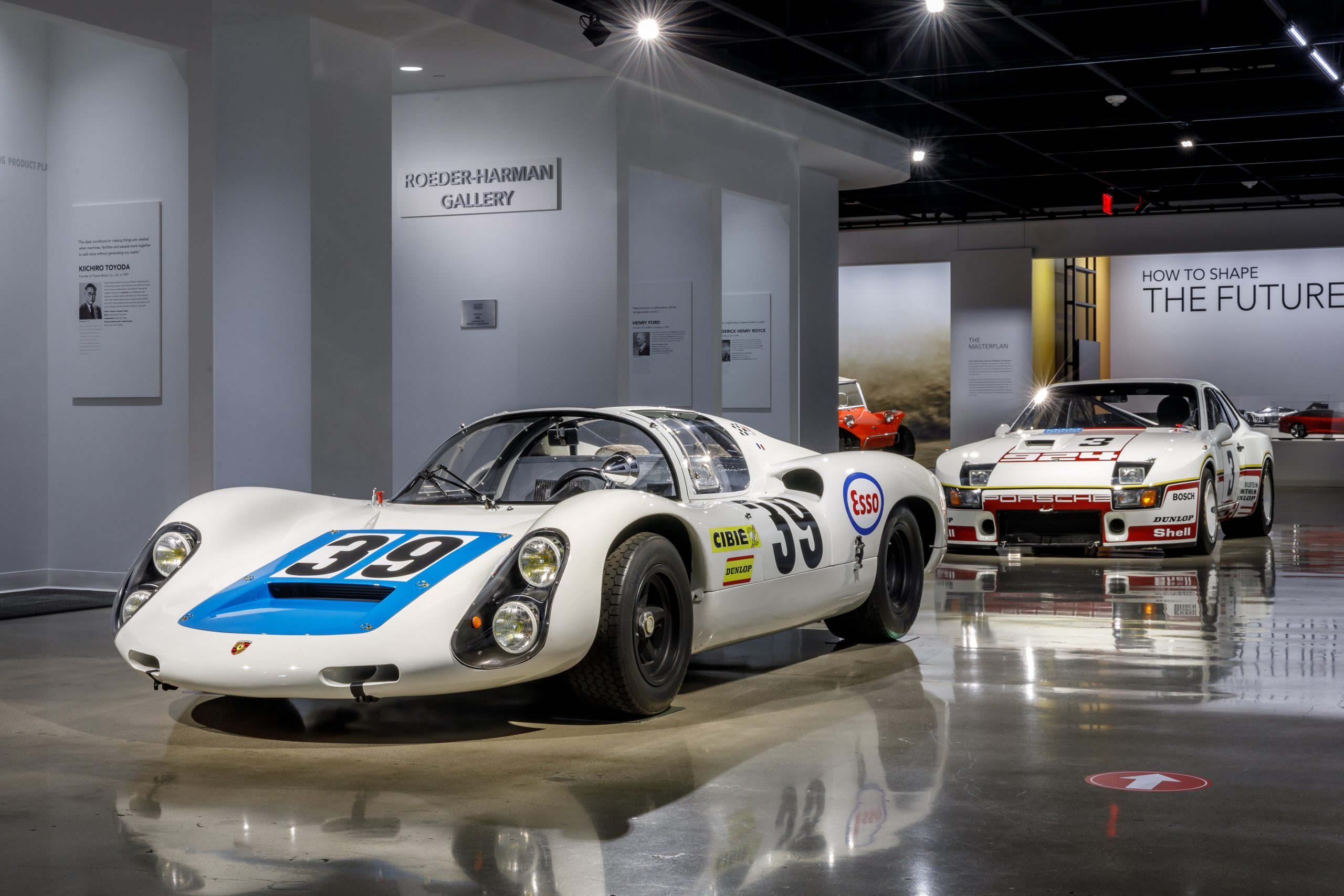 These 5 veteran racing Porsches celebrate Stuttgart's racing legacy