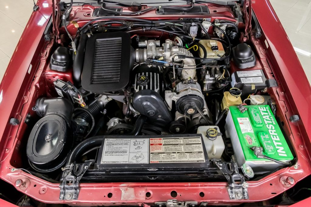 1987 ford thunderbird turbo coupe engine