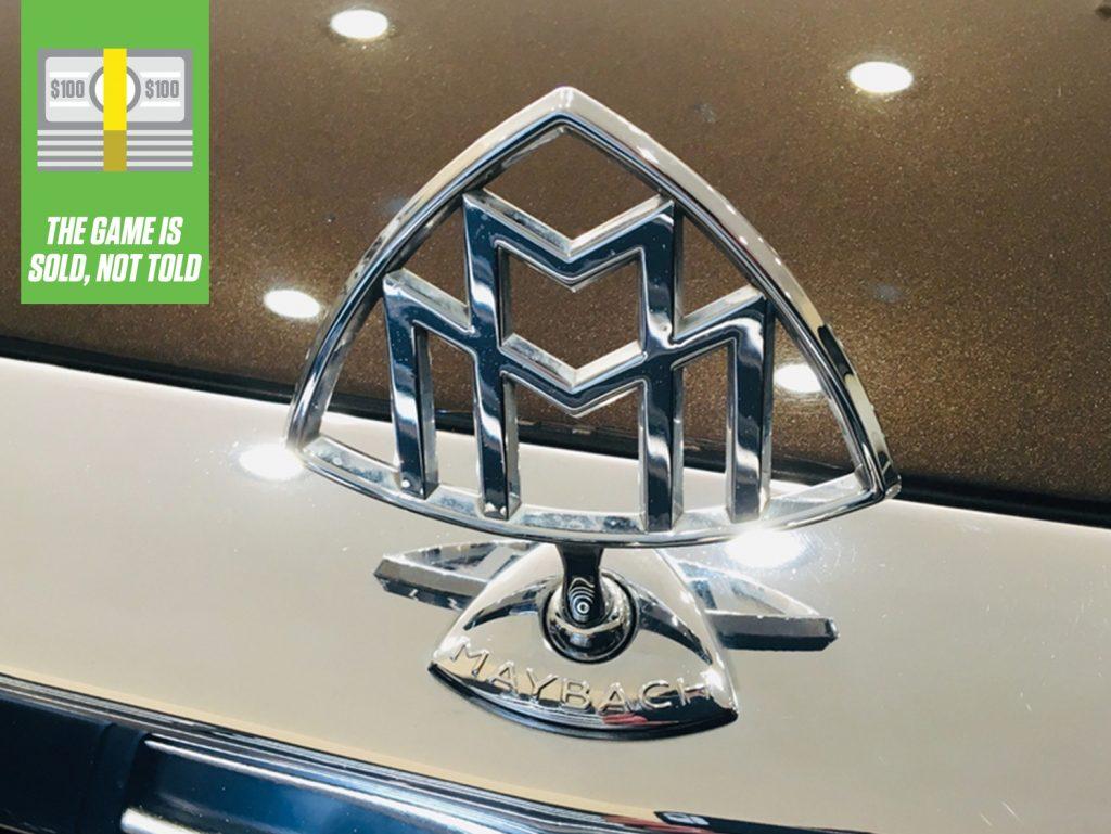Brown 2004 Maybach emblem hood ornament