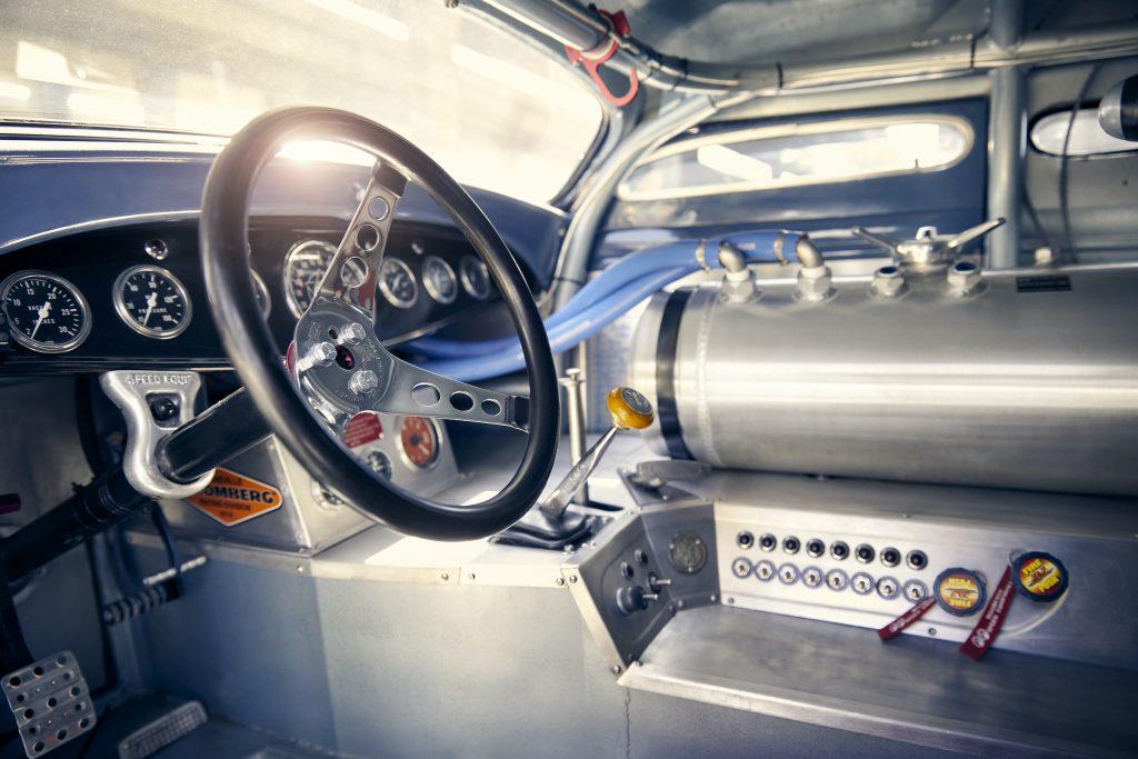 Ford Model A Salt Racer Hot Rod interior detail