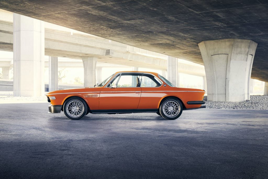 Speedkore 1972 BMW 3-0 CSi side profile