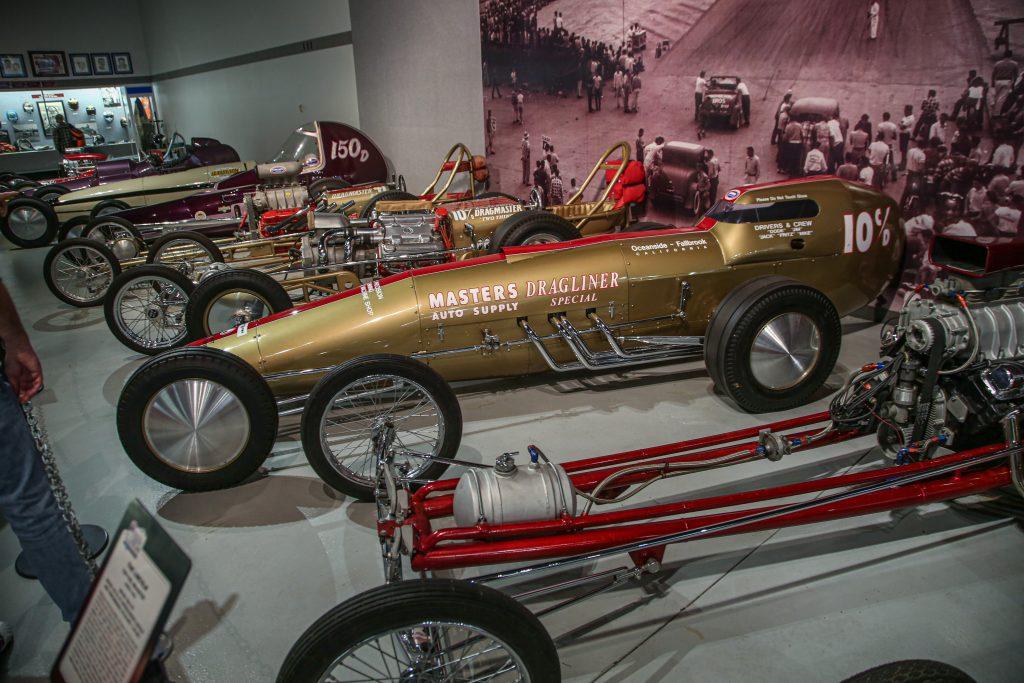 Vintage Drag cars