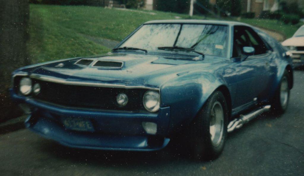 1970 AMC AMX SCCA B Production race car vintage