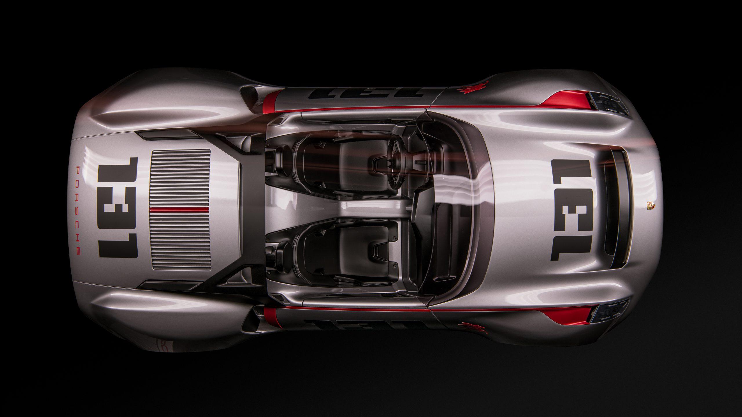 Porsche vision spyder top