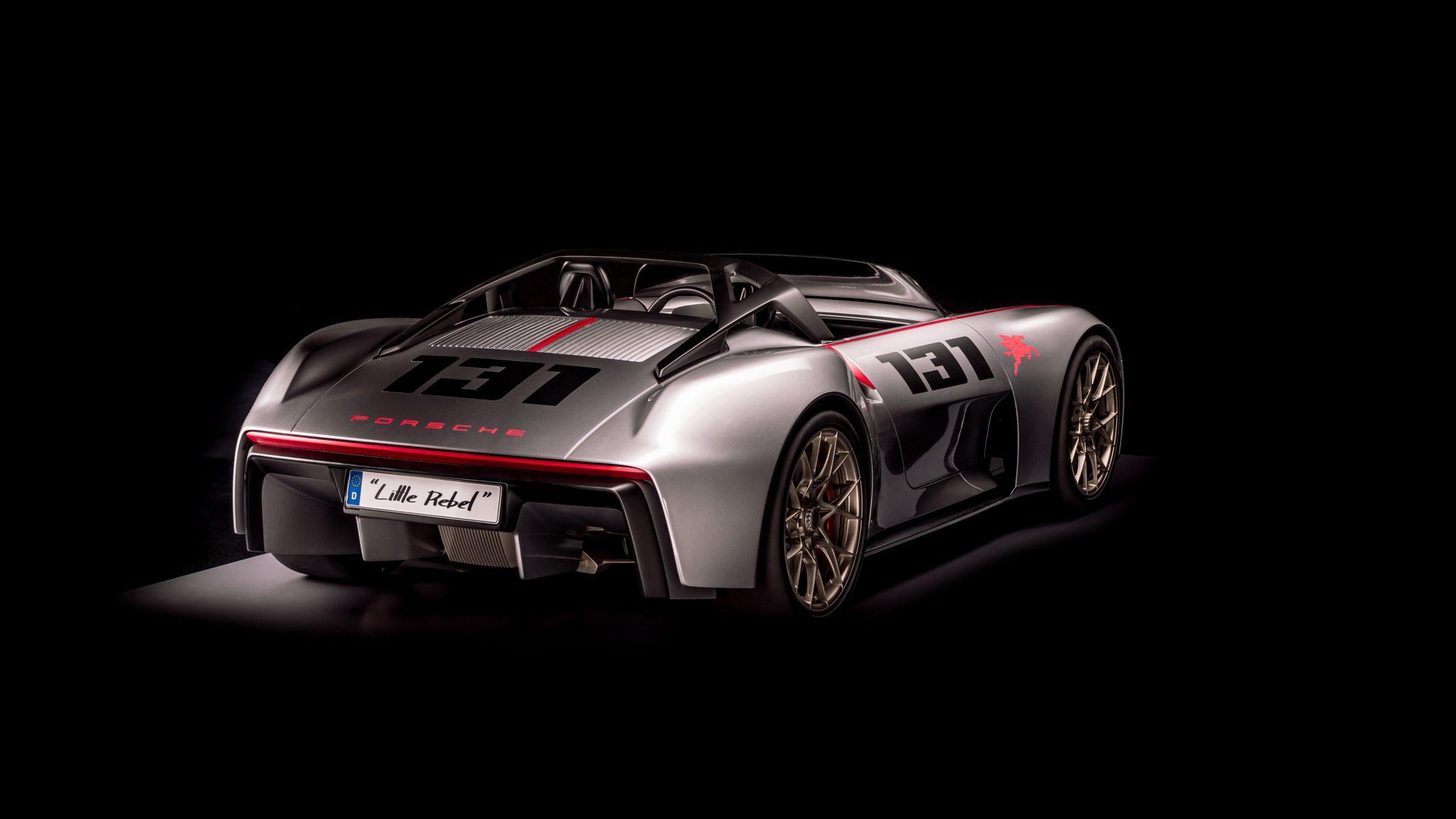 Porsche vision spyder rear
