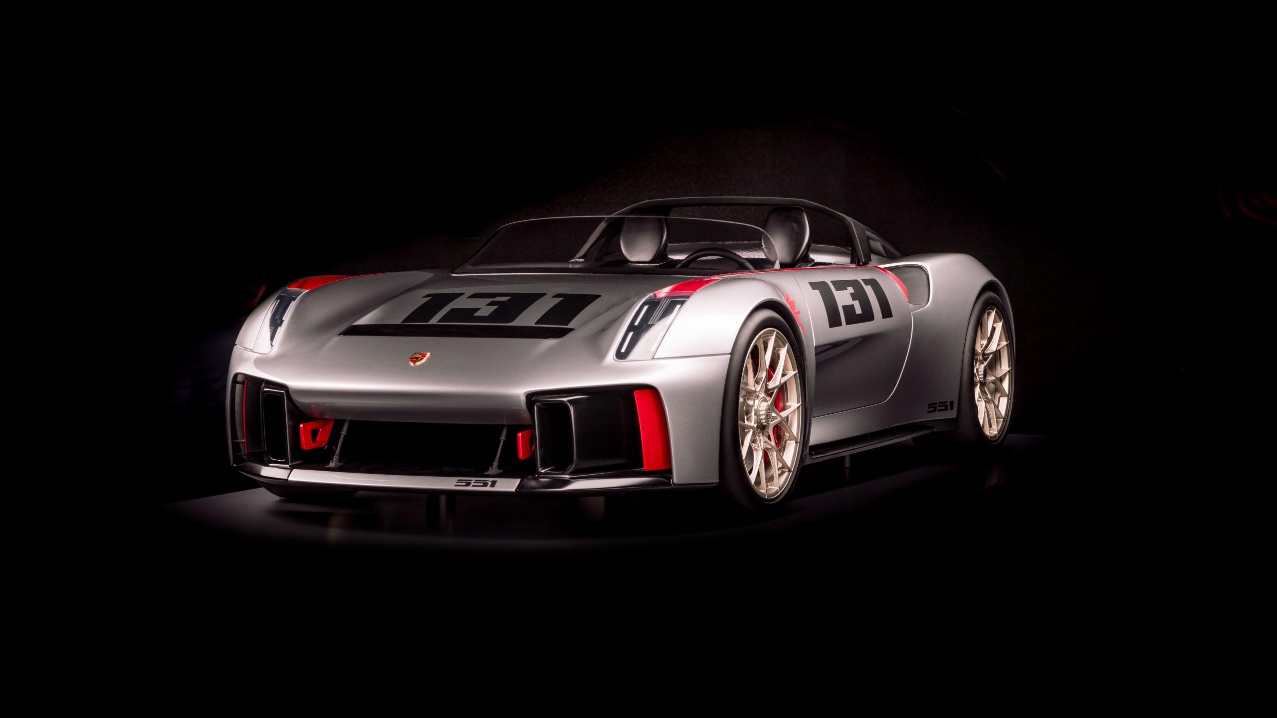 Porsche vision spyderfront 2