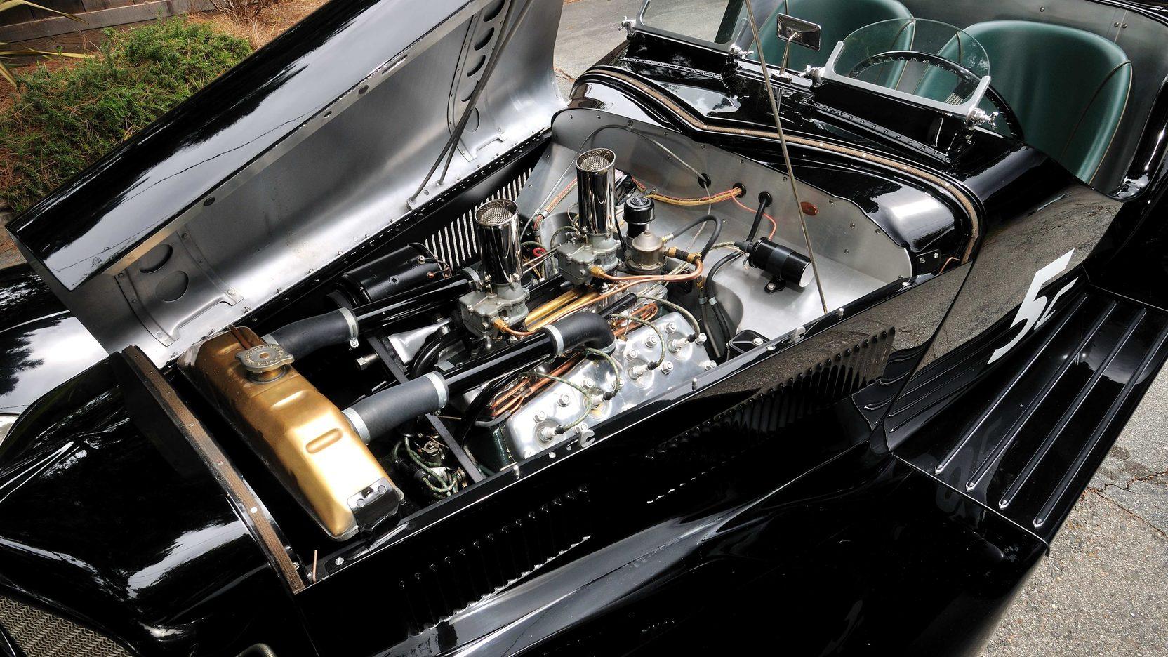 1933 Ford Auburn Special engine