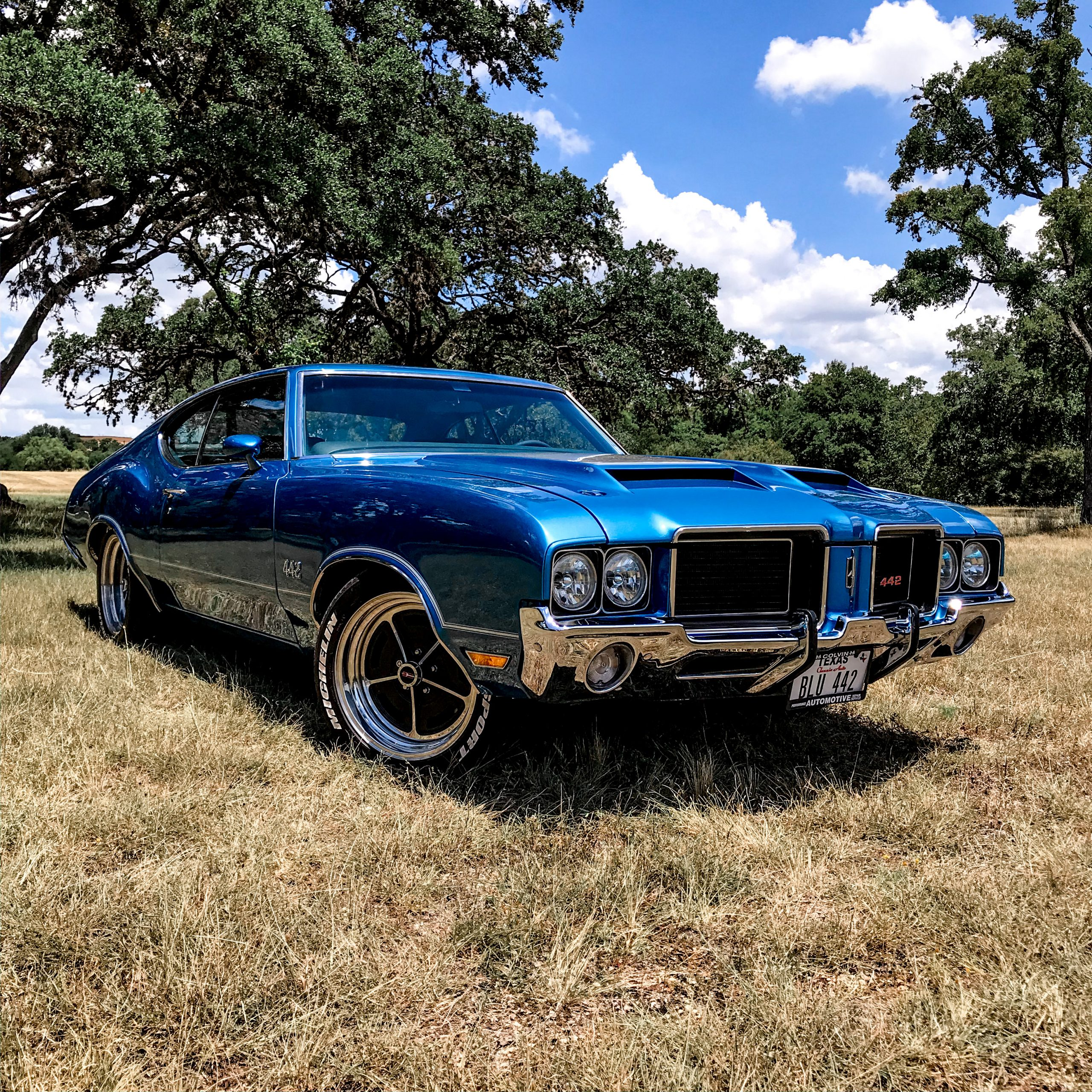 1972 oldsmobile 442 restomod