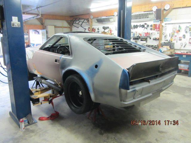 1970 AMC AMX SCCA B Production race car restoration