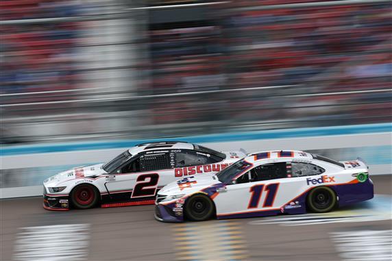 Hamlin, Keslowski NASCAR
