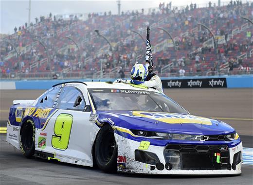 Chase Elliott wins NASCAR Championship