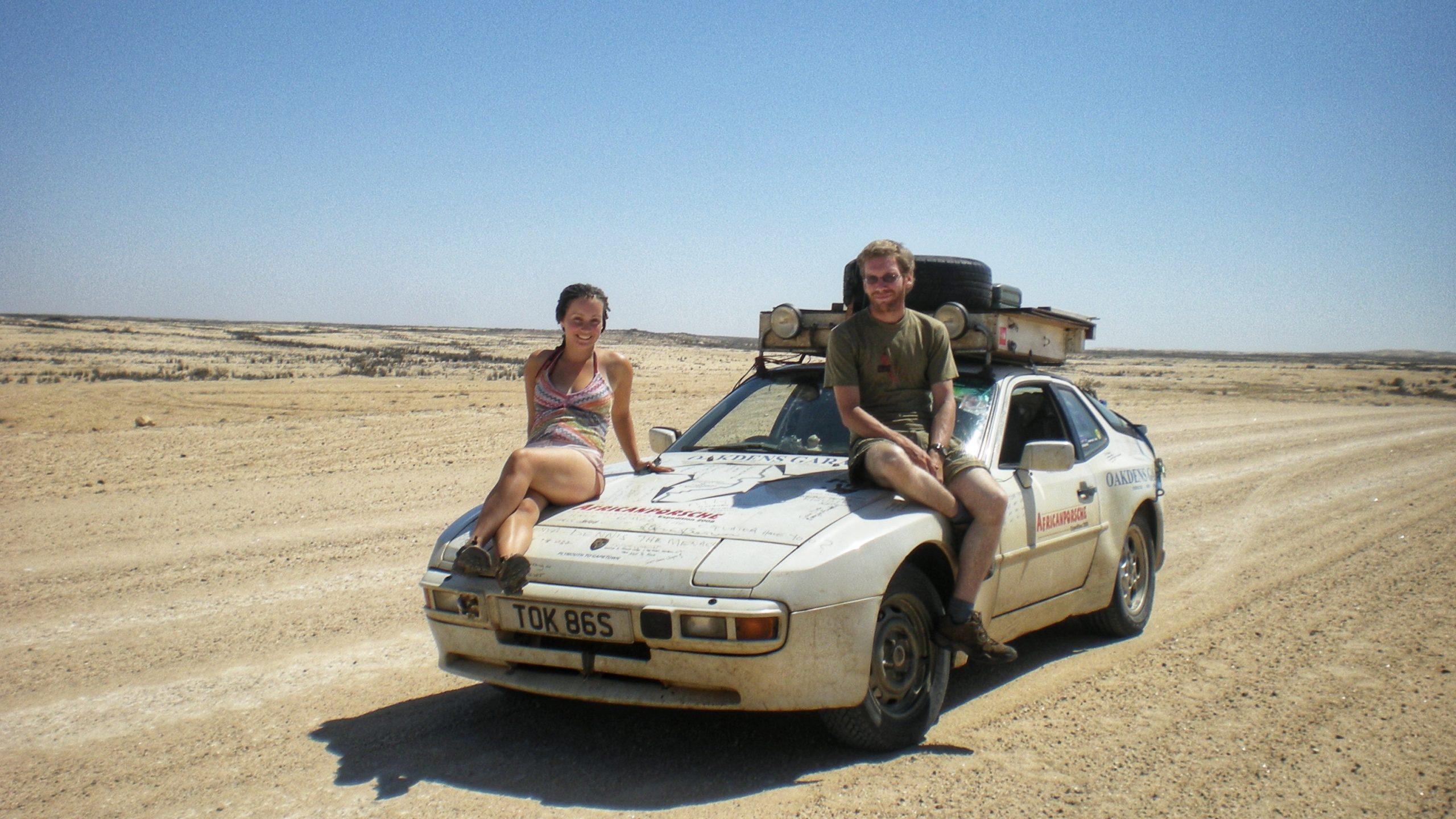 Africa Porsche 944 driver and co-pilot