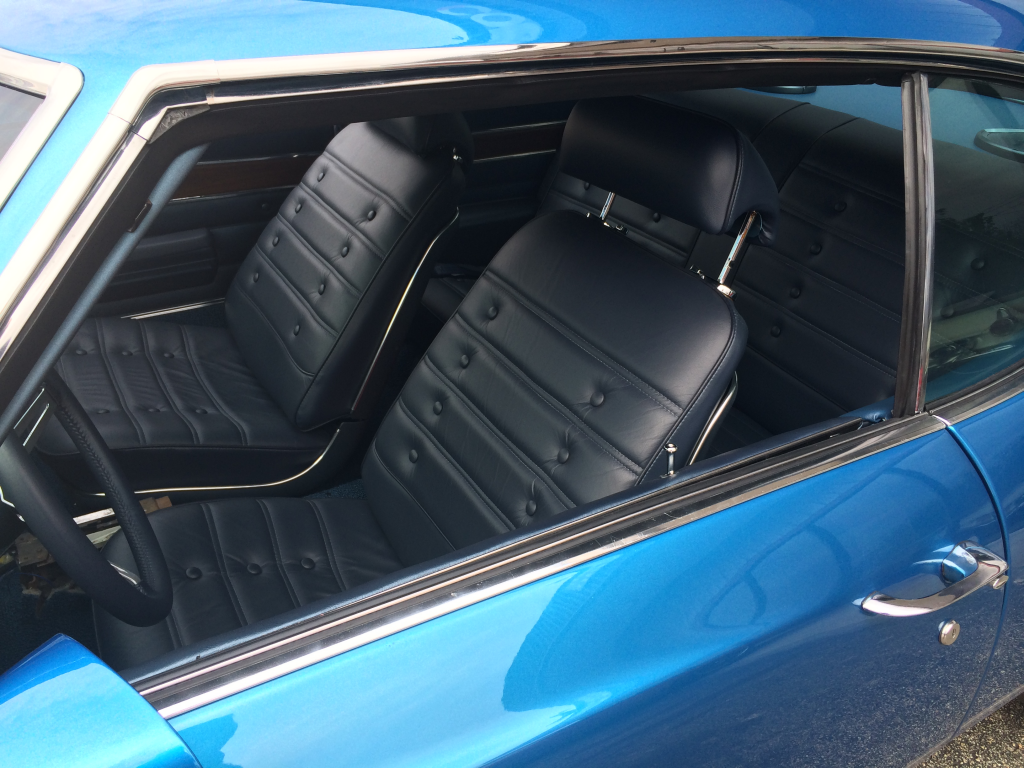 1972 oldsmobile 442 restomod interior