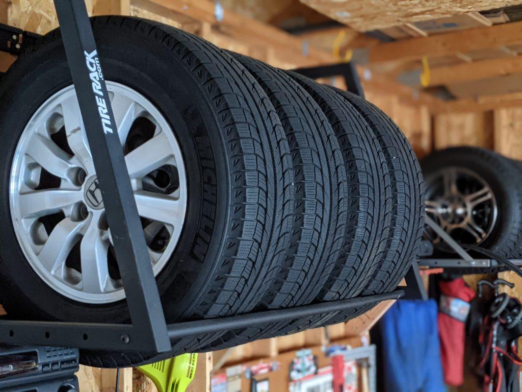 Preparing tires for winter