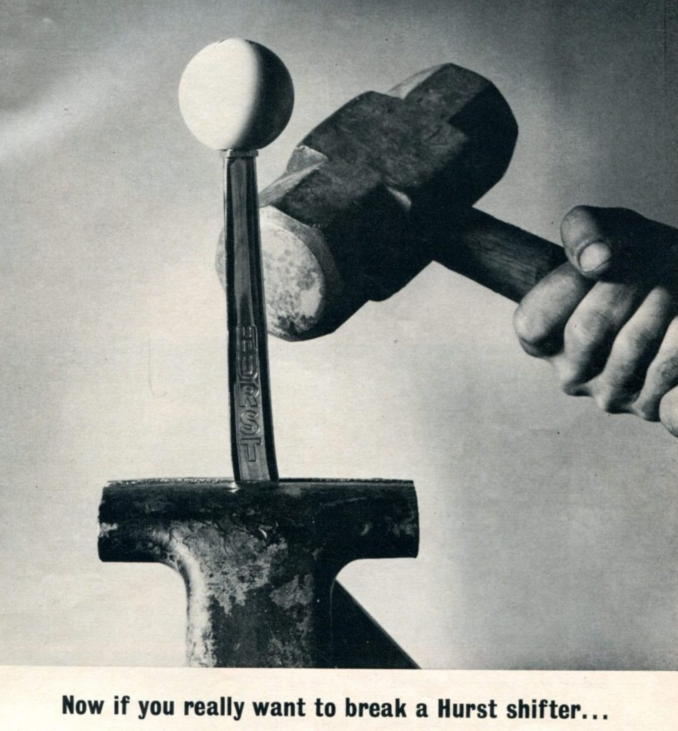 Hurst Shifter Vintage Ad