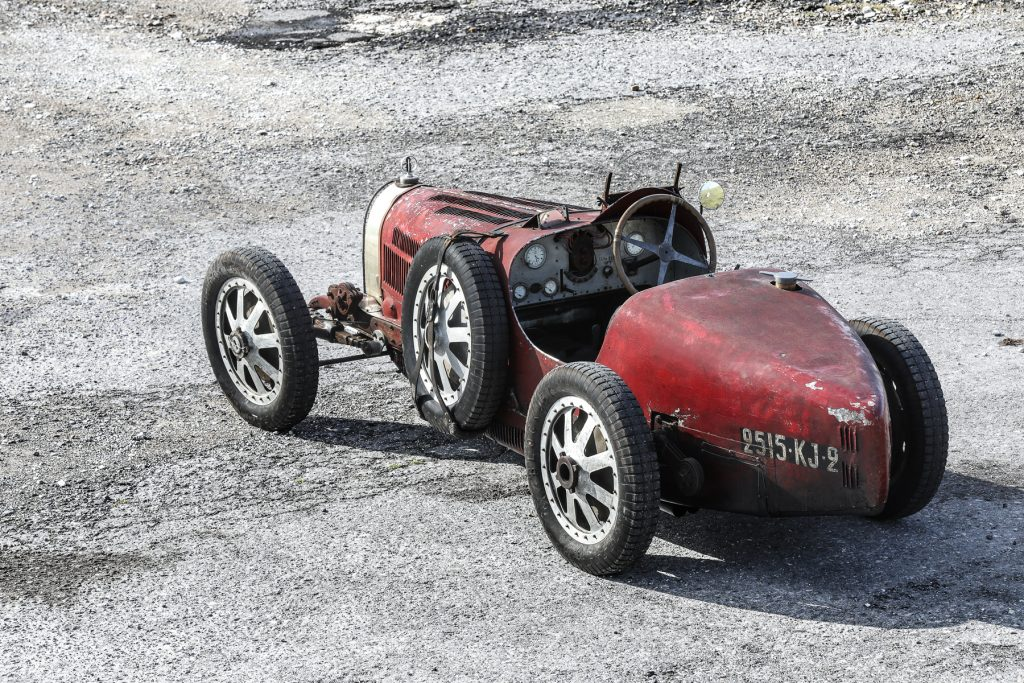 1928 Bugatti Type 35C Grand Prix rear three-quarter