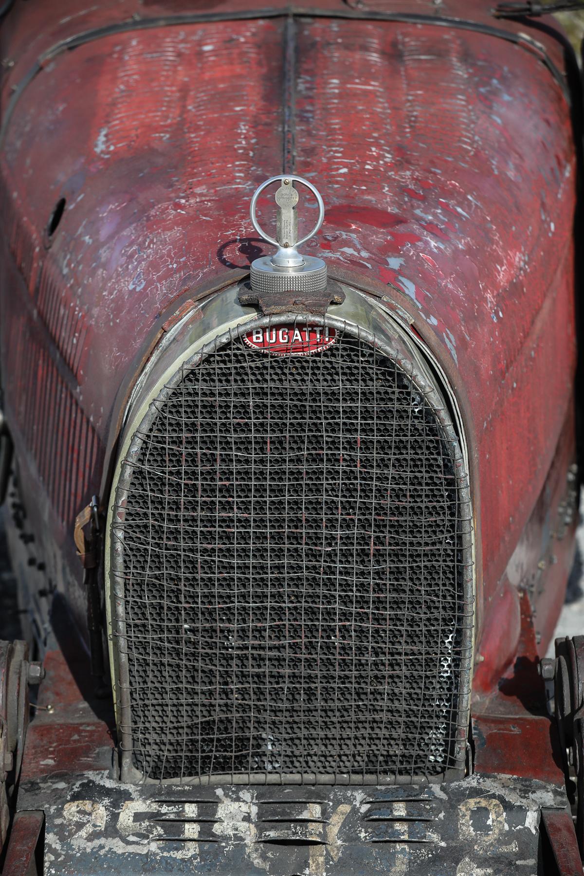 1928 Bugatti Type 35C Grand Prix grille