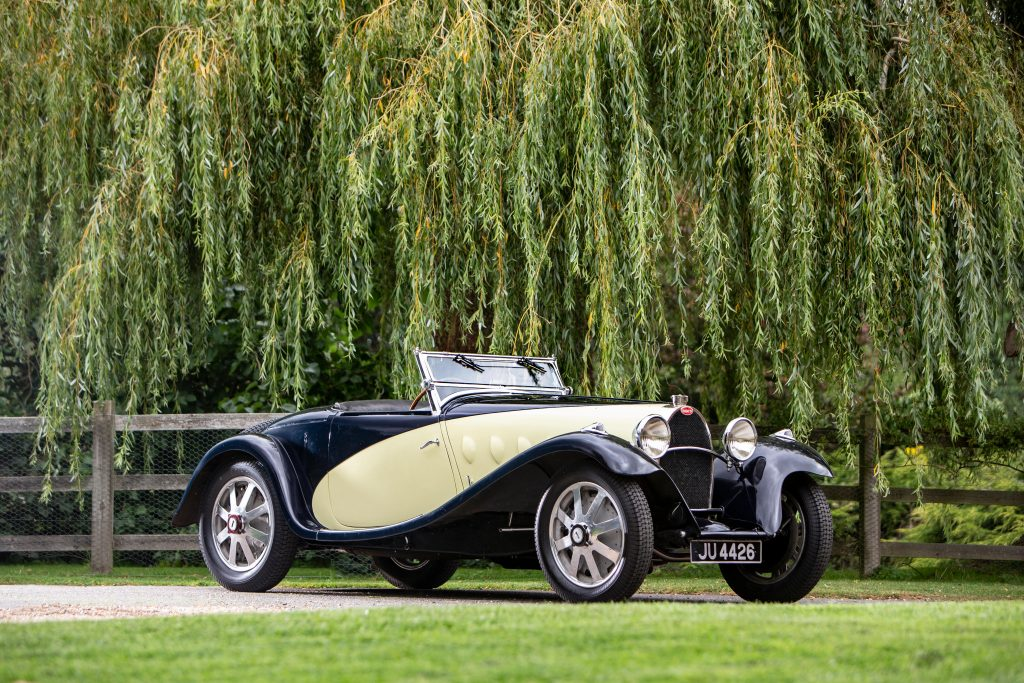 1931 Bugatti Type 55 Figoni front three-quarter