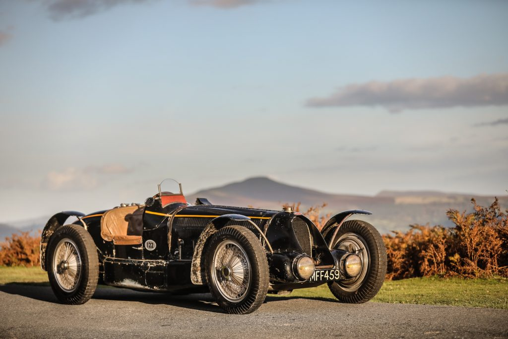 1934 Bugatti Type 59 front three-quarter