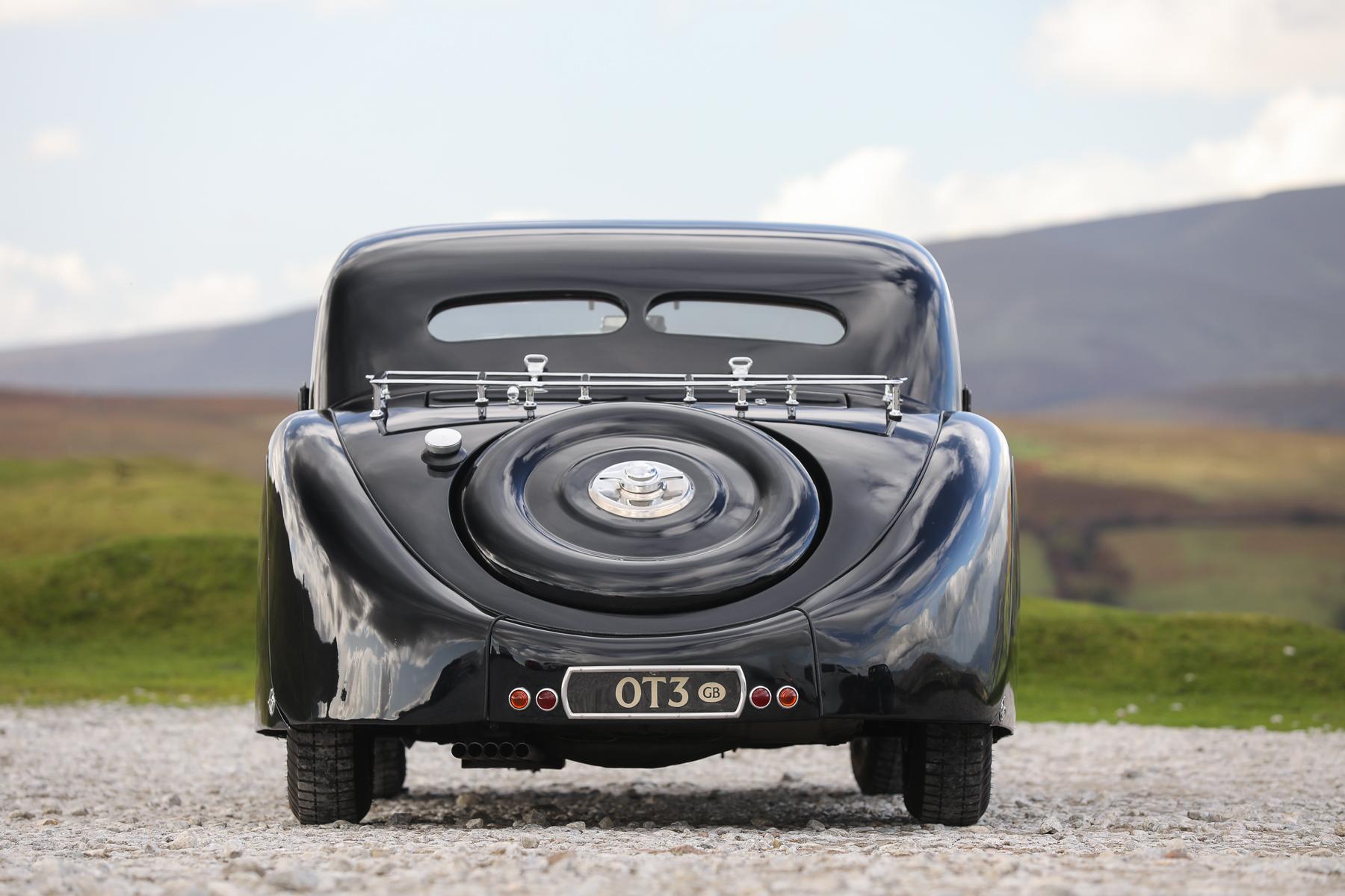 1937 Bugatti Type 57S Atalante rear