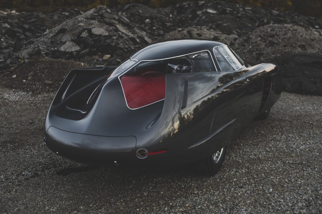 1953 Alfa Romeo Bertone B.A.T 5 rear three-quarter