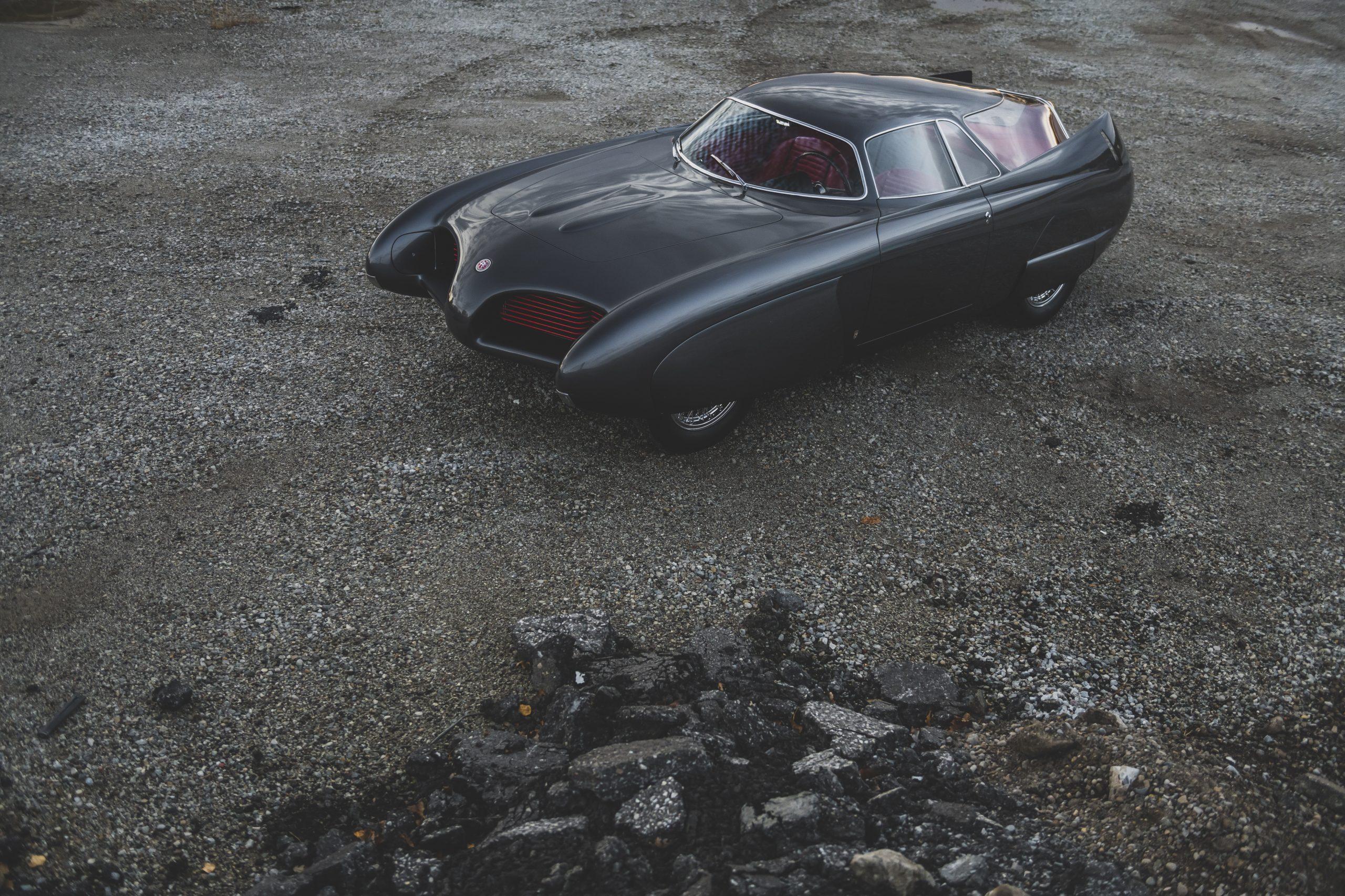 1953 Alfa Romeo Bertone B.A.T 5 front three-quarter