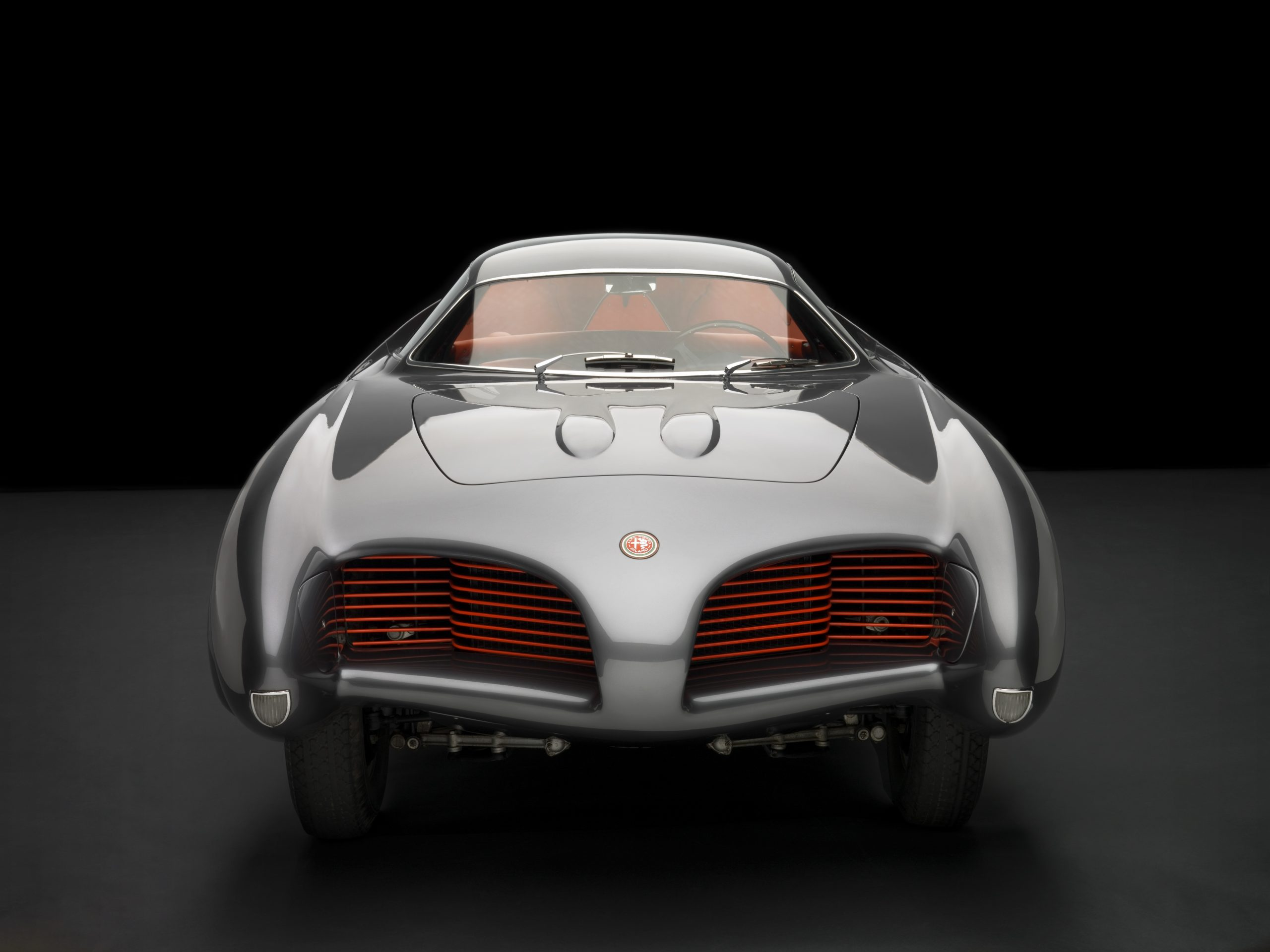 1953 Alfa Romeo Bertone B.A.T 5 front studio