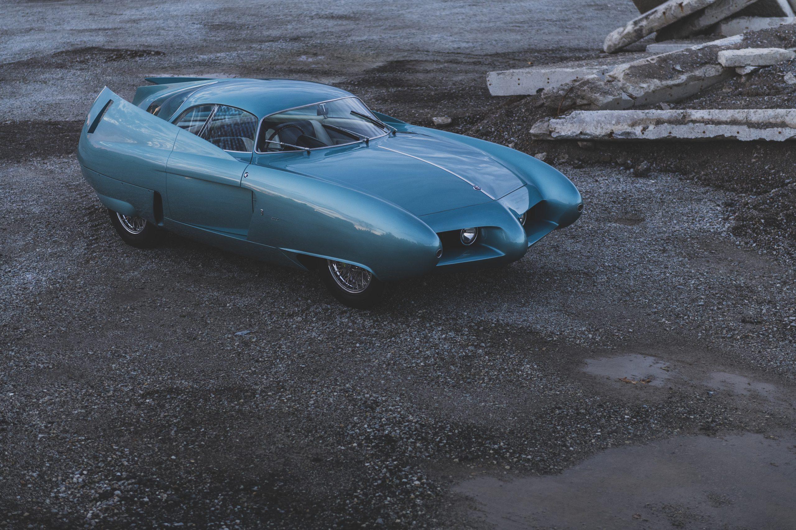 1954 Alfa Romeo Bertone B.A.T. 7 front three-quarter