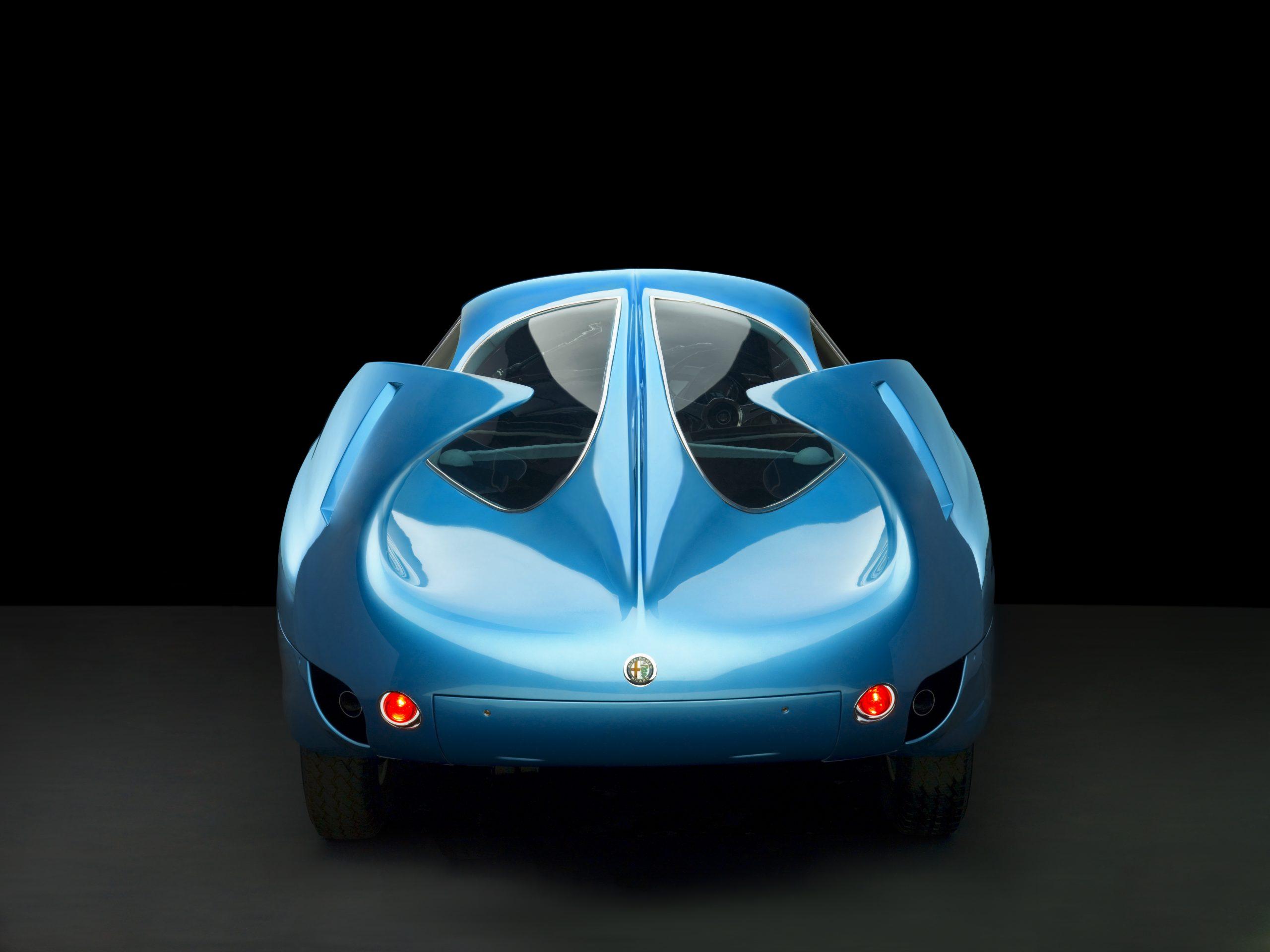 1954 Alfa Romeo Bertone B.A.T. 7 rear studio
