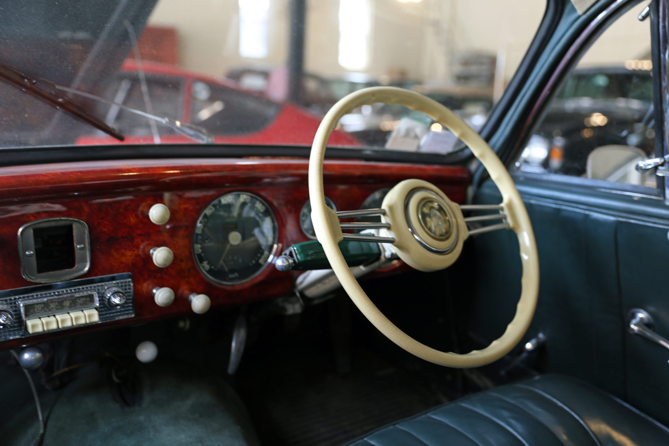 Salmson coupe with Preselector gearshift clutchless