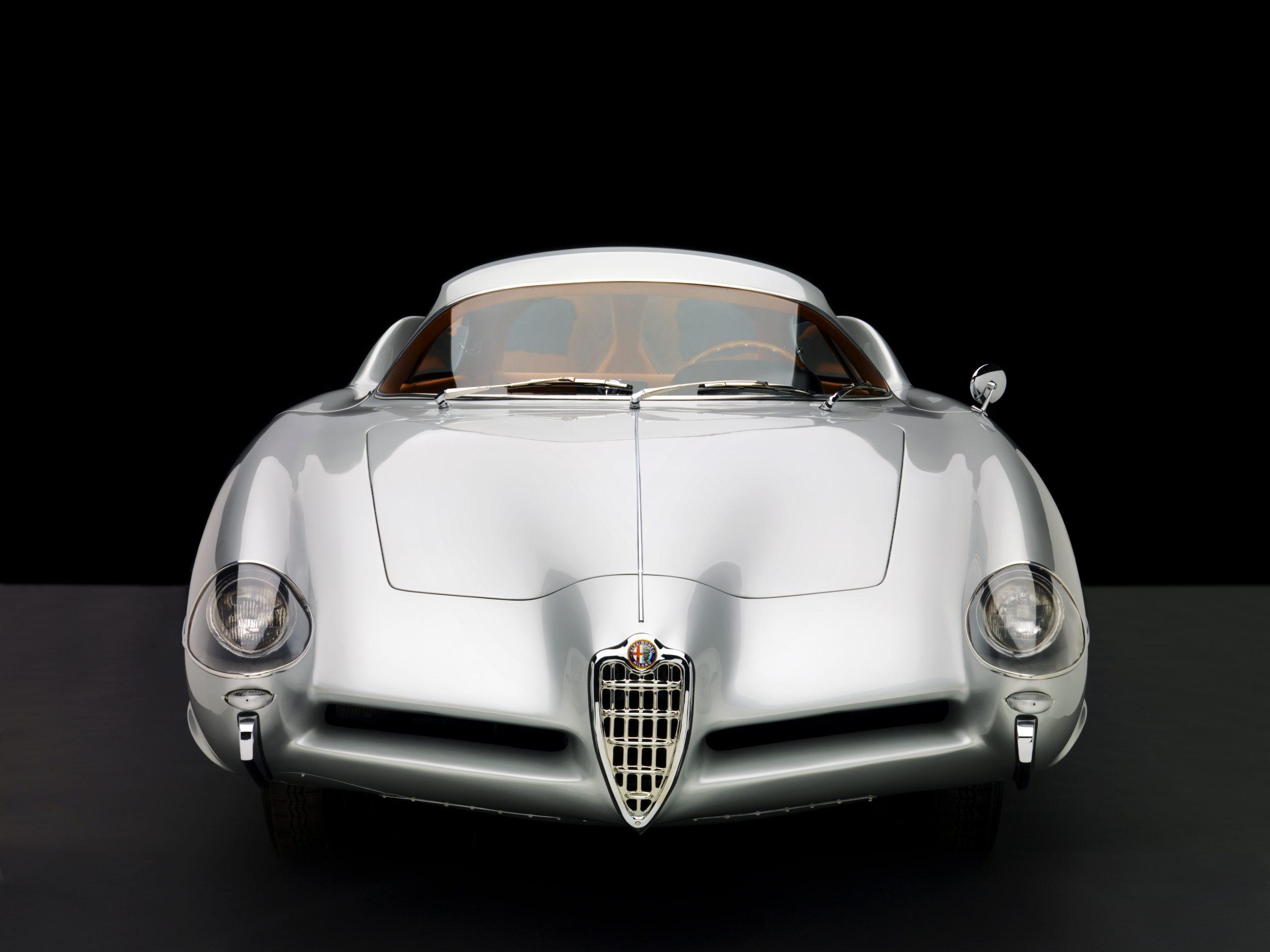 1955 Alfa Romeo Bertone B.A.T 9 studio front
