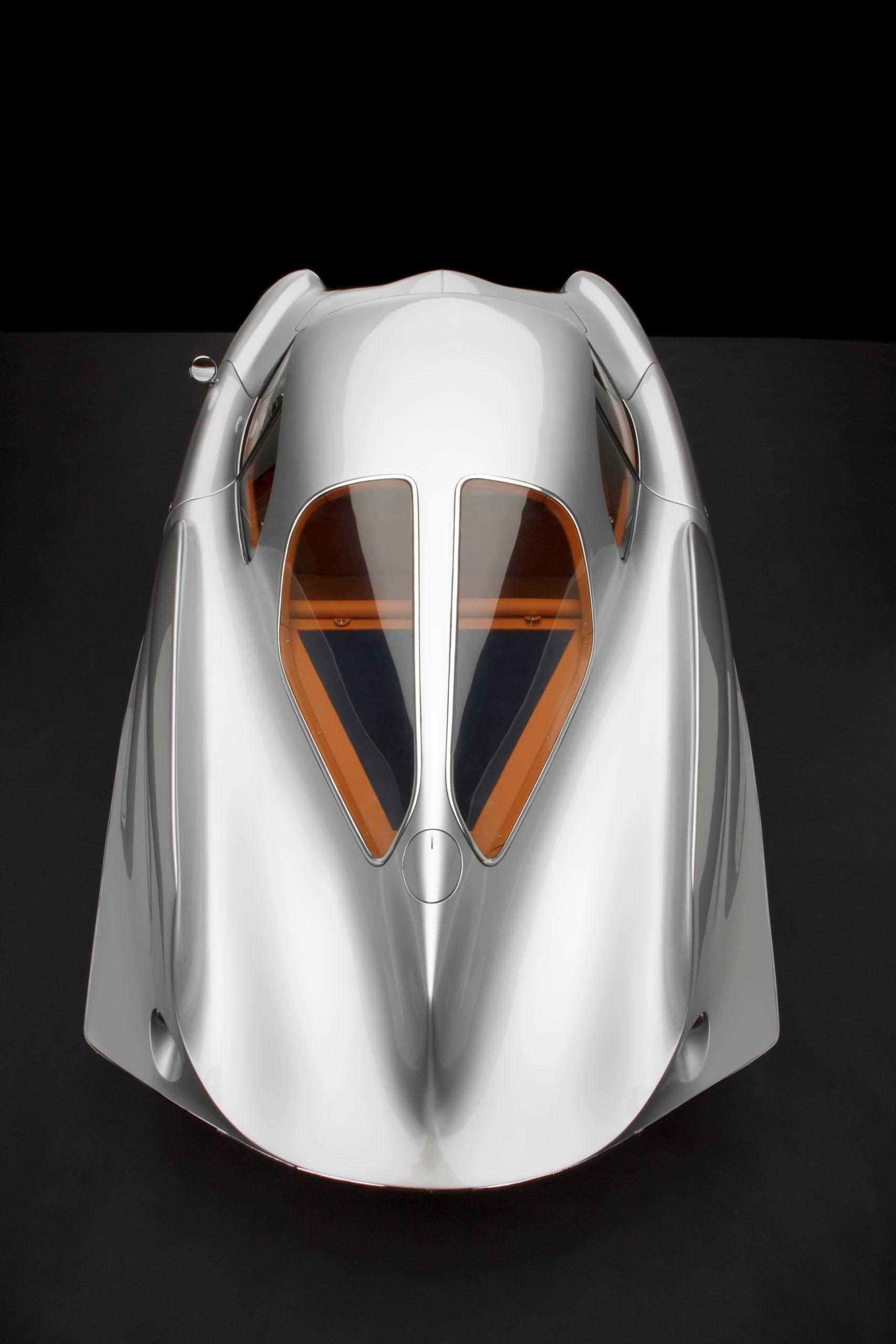 1955 Alfa Romeo Bertone B.A.T 9 rear overhead