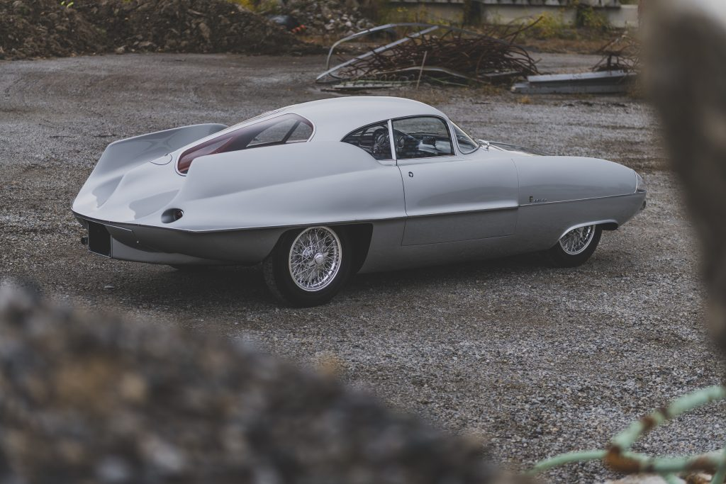 1955 Alfa Romeo Bertone B.A.T 9 rear three-quarter