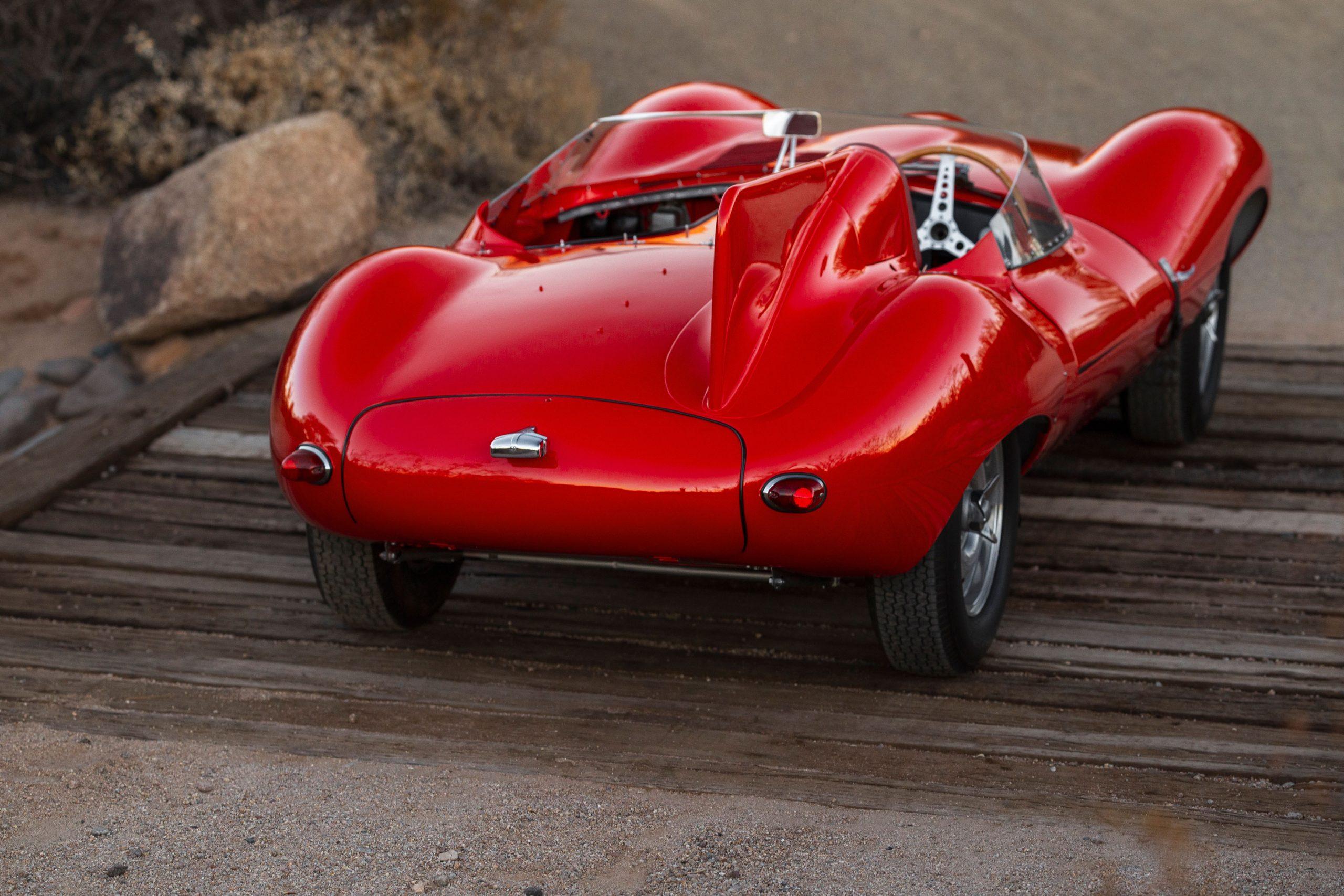 1955 Jaguar D-Type rear
