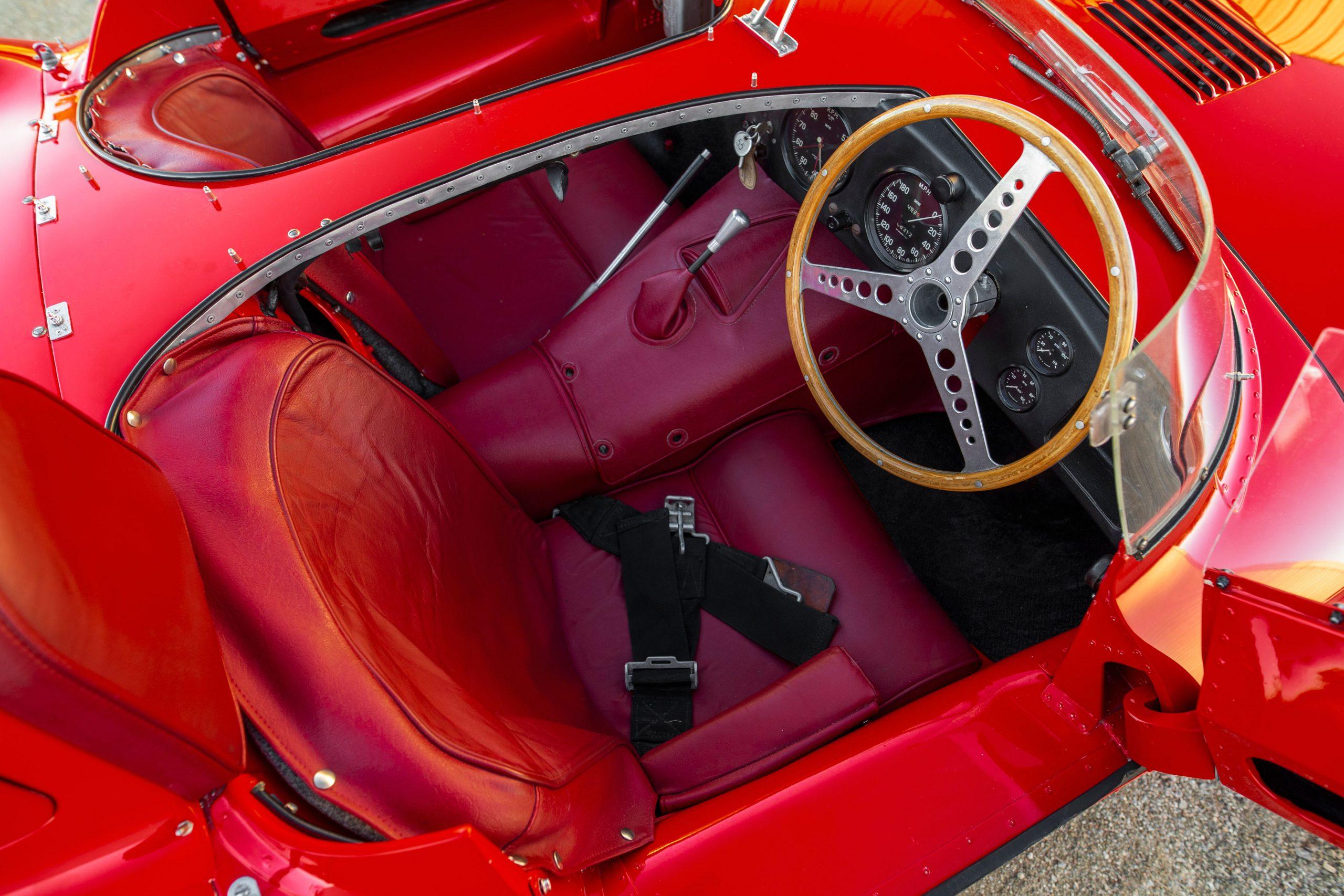 1955 Jaguar D-Type interior