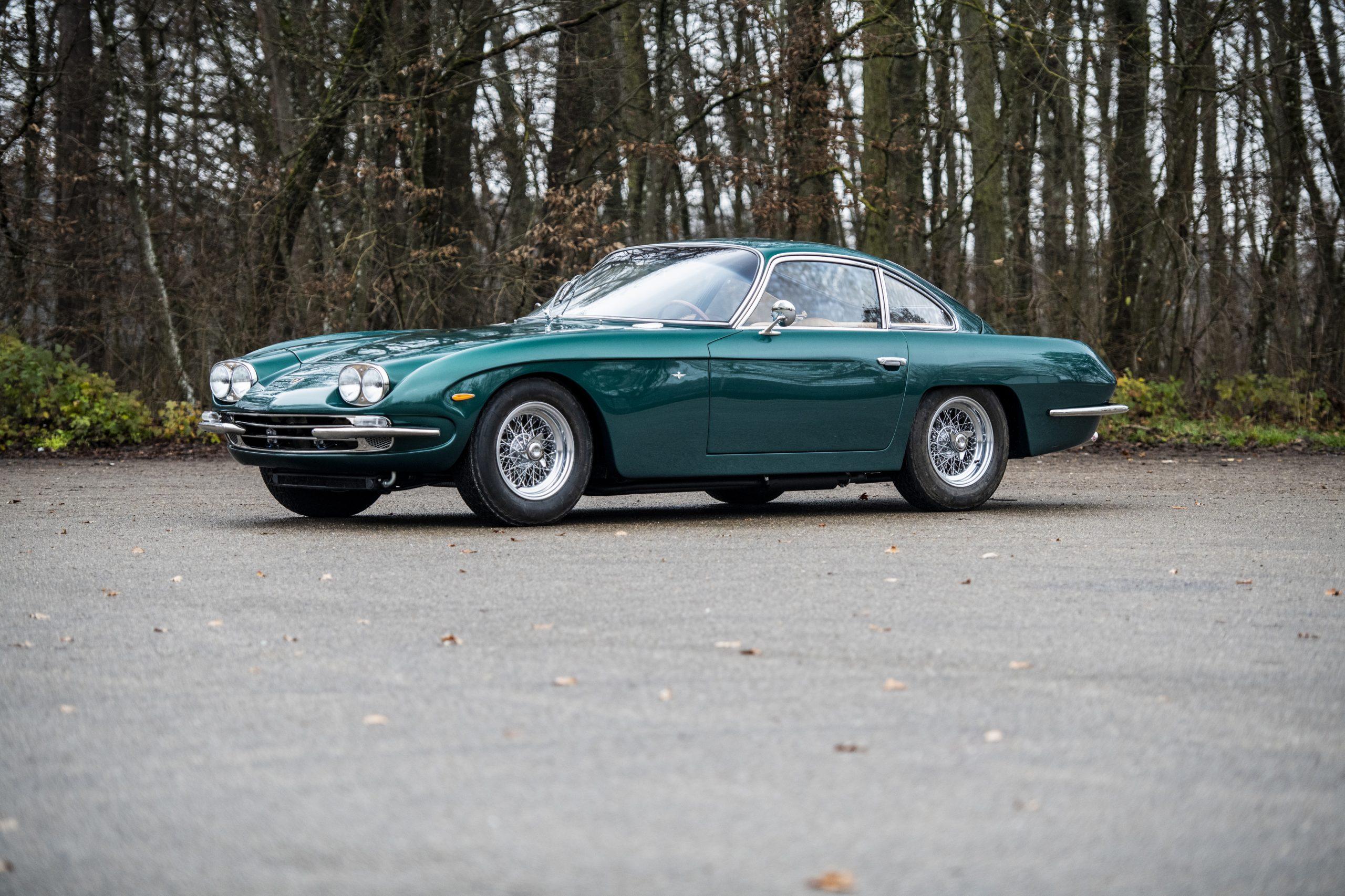 1967 Lamborghini 400 GT 2+2 front three-quarter