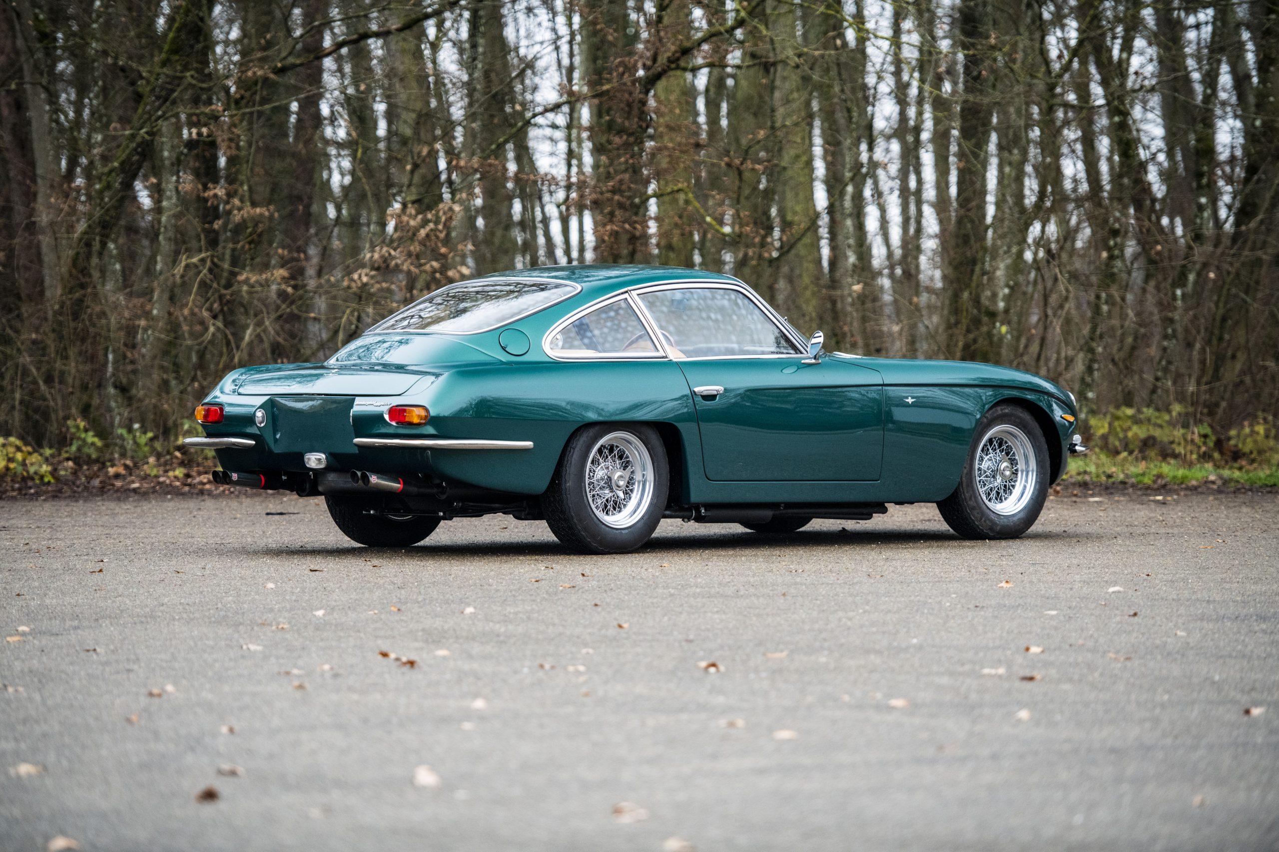 1967 Lamborghini 400 GT 2+2 rear three-quarter