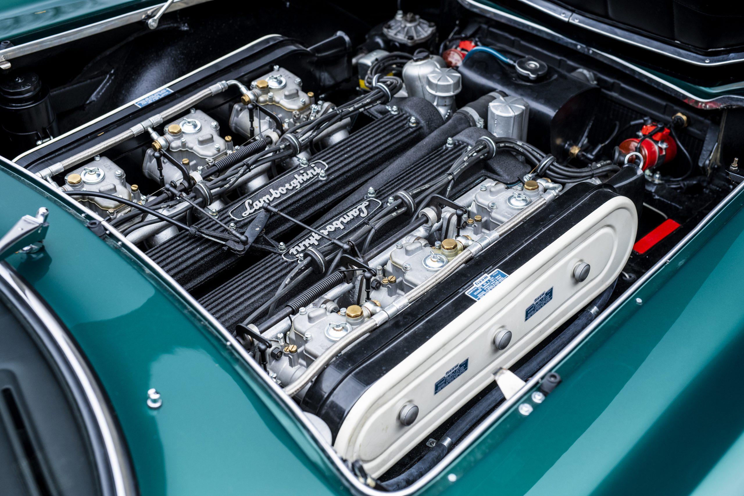 1967 Lamborghini 400 GT 2+2 engine