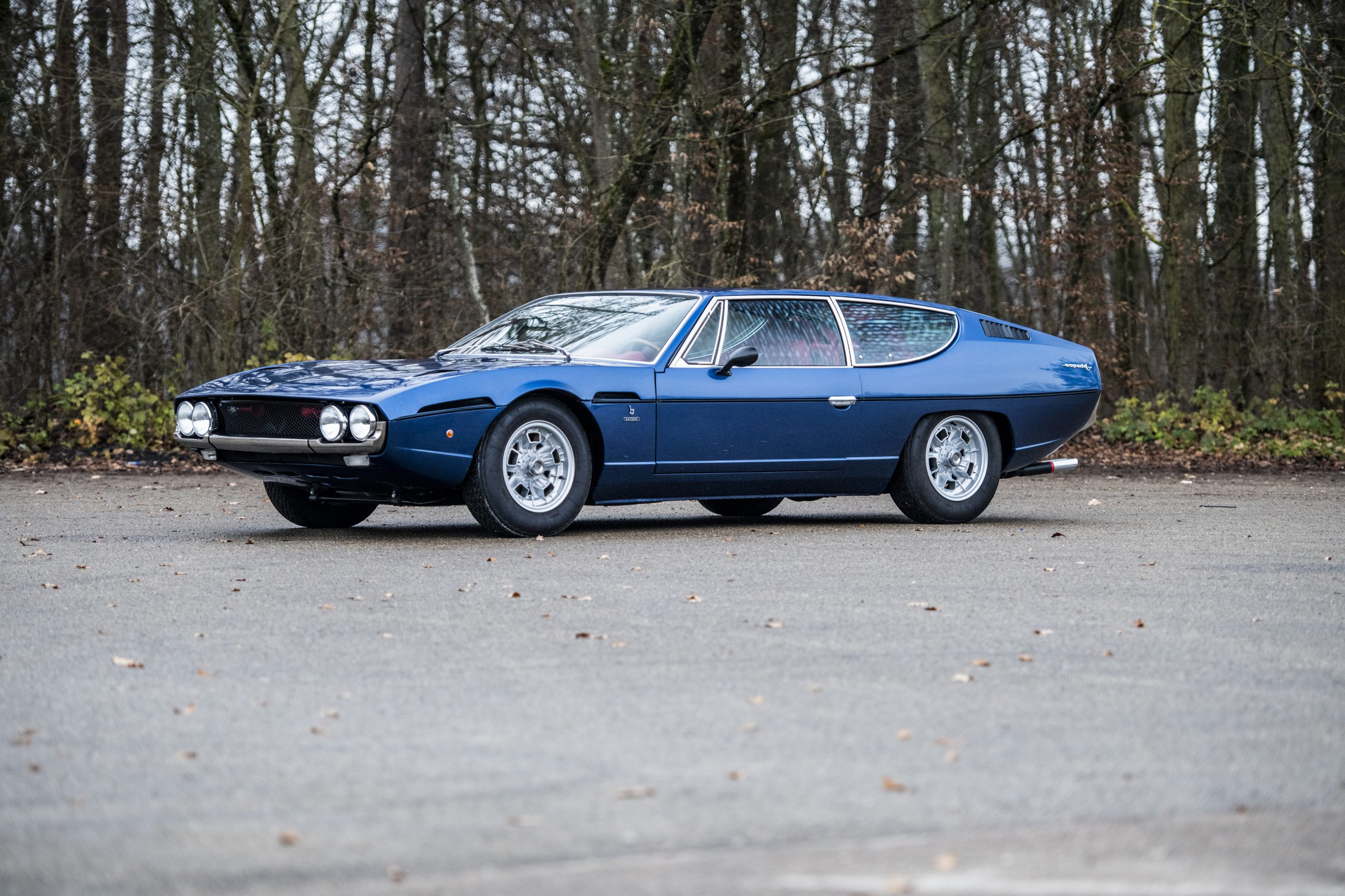 1968 Lamborghini Espada Series I by Bertone front three-quarter